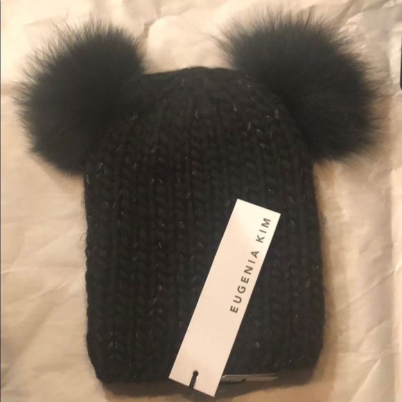 edb33a20 Eugenia Kim Accessories | Pompoms Beanie Hat | Poshmark